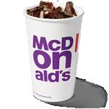 Gratis Drankje bij McDonald's